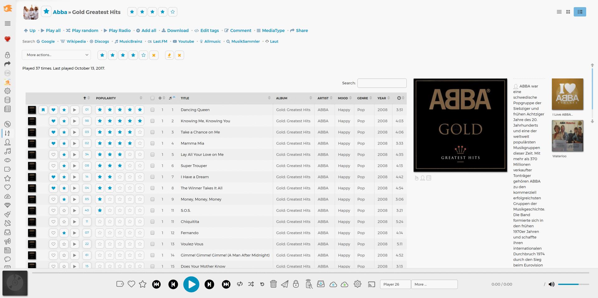 Madsonic » Music Streamer